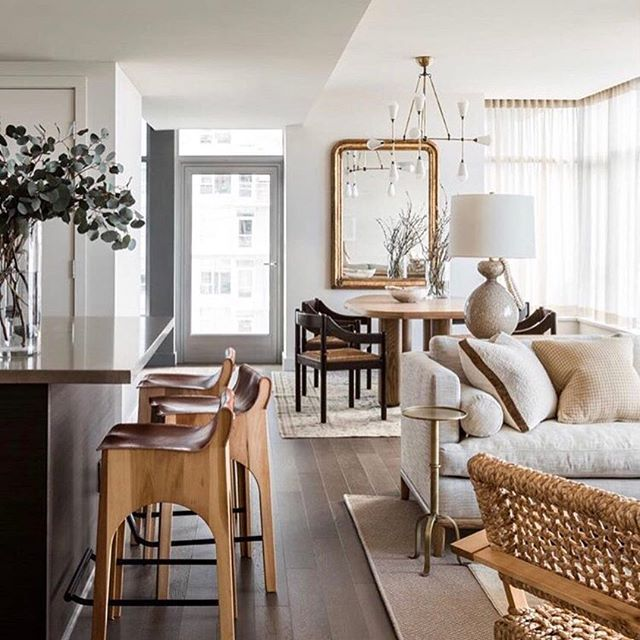 So good it hurts. All the neutrals and all the textures. Design @brian.paquette.interiors