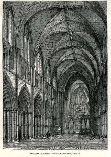 Christ Church Cathedral: Illustrated London News, 4th May 1878