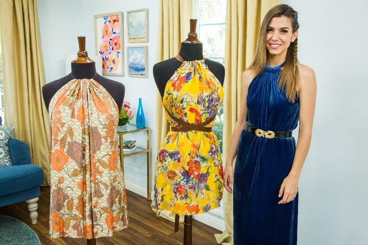 DIY Tank Top Dress - Home & Family Orly Shani shows you how to to turn an old maxi skirt into a stylish dress.