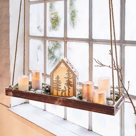 tablett zum h ngen heim k che weihnachtlich dekorieren. Black Bedroom Furniture Sets. Home Design Ideas