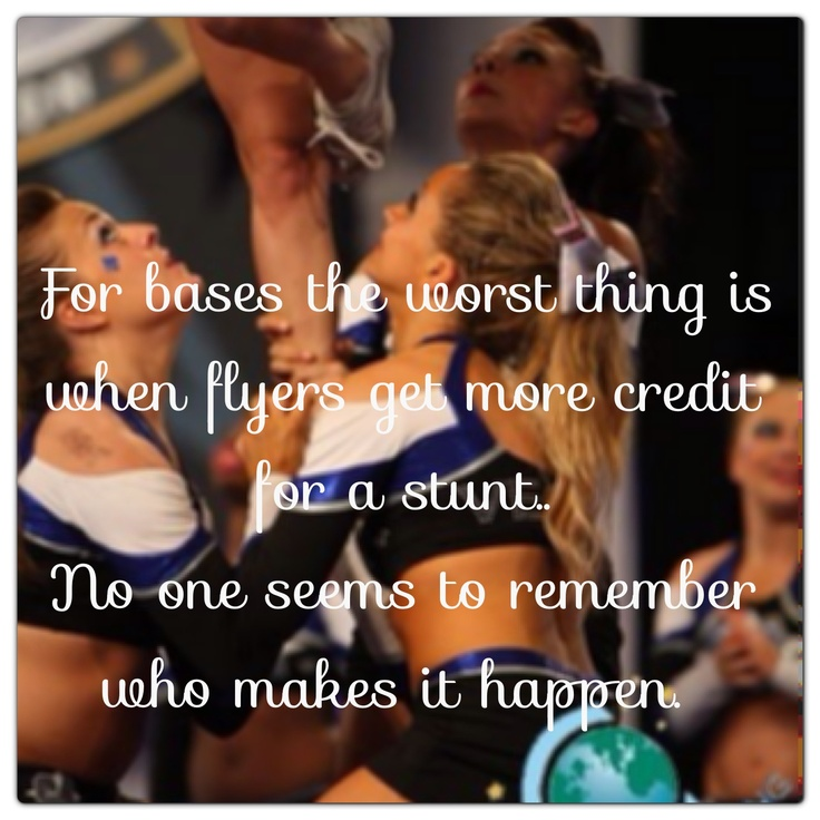 Don't forget everyone is equally important in a stunt