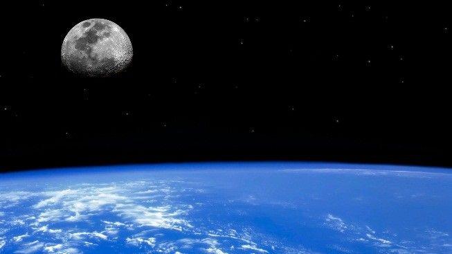 Dünya ve Ay Yüzeyleri #wallpaper #world #moon #dunya #ay #space