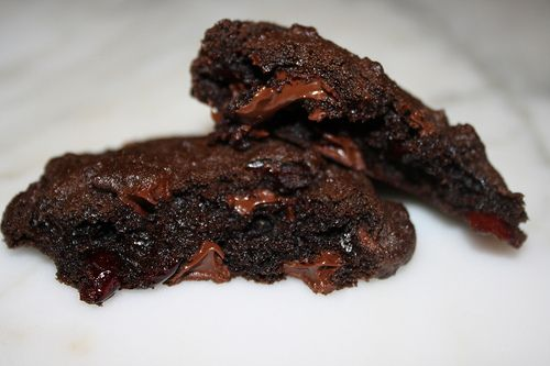 Dark Chocolate and Cranberry Cookies | Cookies and Bars | Pinterest