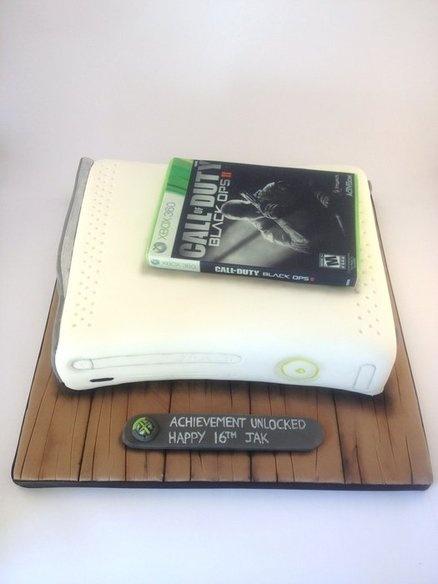 Xbox cake  Cake by Laura Davis