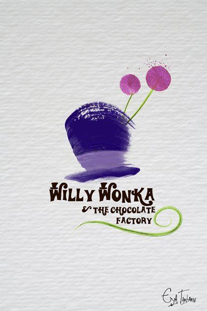 Willy Wonka & the Chocolate Factory (1971) - Minimal Movie Poster by Eya Tarhouni