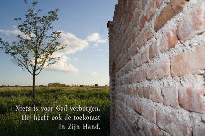 Niets is voor God verborgen www.relicards.nl