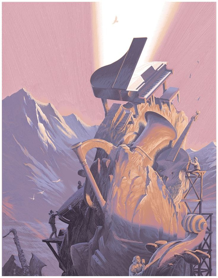 Ars Musica print by François Schuiten and Laurent Durieux. This is the regular edition.
