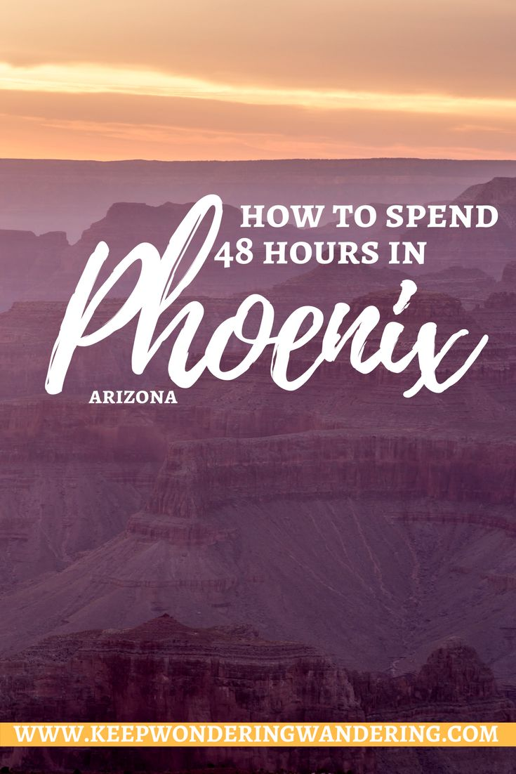 As the 13th-biggest city in the United States, the Phoenix area is exploding with culinary and cultural flavor. Here's how to spend 48 hours in Phoenix.