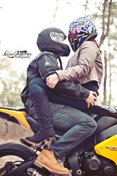 Couple On Motorcycle Photography Couple photography                                                                                                                                                      More
