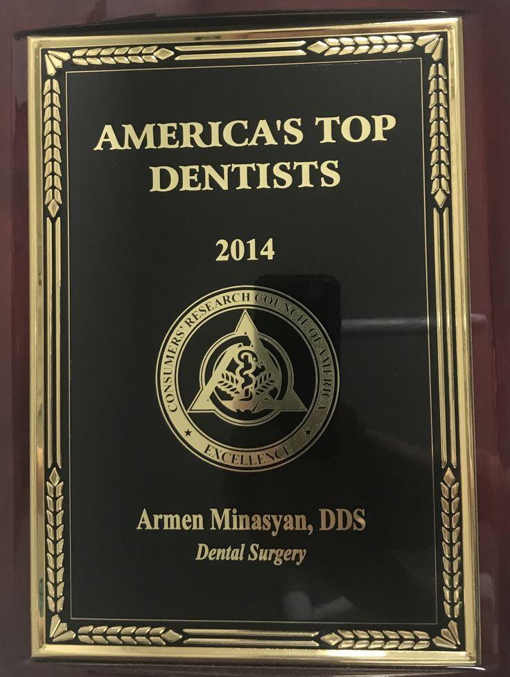 Armen Minasyan DDS G. Oral Surgeon | Americas Best Dentist 2014