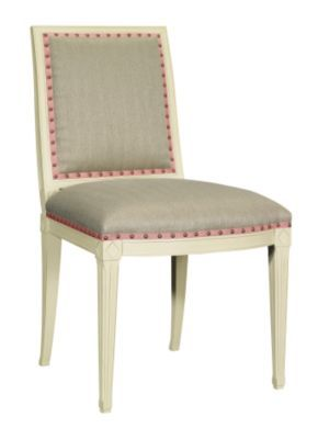 Amsterdam Side Chair from the Suzanne Kasler® collection by Hickory Chair Furniture Co.