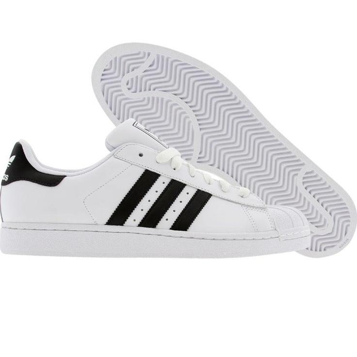 Adidas Superstar II 2 (white / black / white) G17068 - $69.99