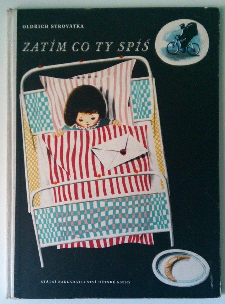 #czech #children's #book Syrovatka - ZATIM CO TY SPIS illustration Vladimir #FUKA