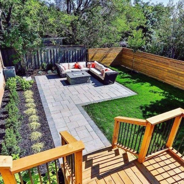 Top 70 Best Modern Patio Ideas Contemporary Outdoor Designs In 2020 Small Backyard Landscaping Modern Patio Backyard Layout