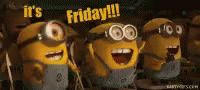 Friday Minions GIF - Friday Minions - Discover & Share GIFs