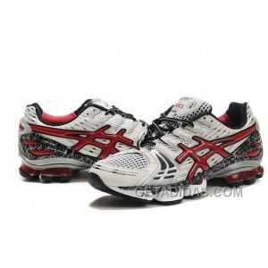 c271a2d80a0c Asics Gel-Kinsei 2 Mens White Red Black Lastest