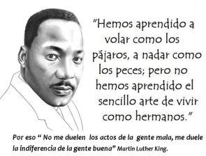 Frase celebre de Martin Luther King