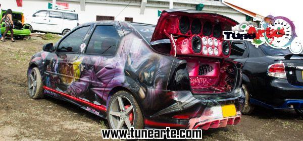 Evento de Car-audio en la ciudad de cachipay