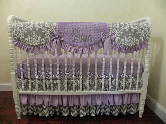 133 best Baby Girl Bumperless Crib Bedding images on