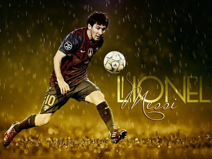 Lionel Messi HD Soccer Wallpaper - http://www.wallpapersoccer.com/lionel-messi-hd-soccer-wallpaper.html