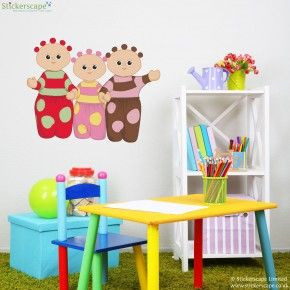 In The Night Garden Wall Stickers Part 41