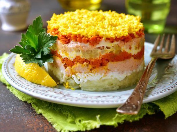 Salattorte Low Carb: einfach und lecker | Wunderweib