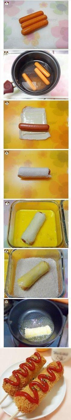 #Hotdog muy original para dar en las #fiestasinfantiles o para consentir a tus #niños
