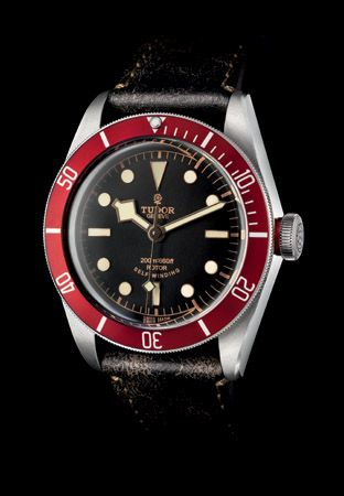 Tudor - Heritage Black Bay #tudor #watches