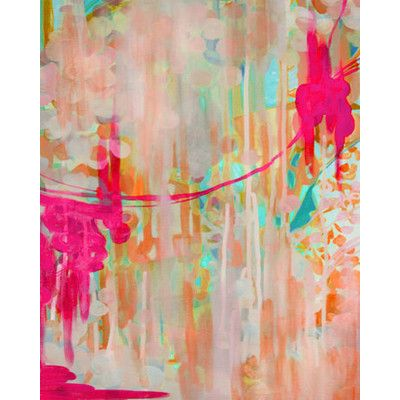 New Yorker in Spring Painting Print on Wrapped Canvas & Reviews   Joss & Main