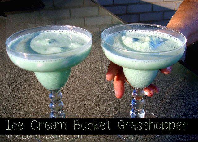 Ice cream bucket grasshopper - Spend more time with your guests by pre-making a batch of this minty drink. This ice cream bucket grasshopper drink is my most requested recipe after hosting a party.