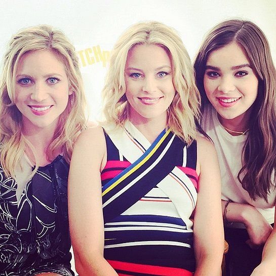 Gotta love the ladies of Pitch Perfect 2! Elizabeth Banks posted a smiley picture with Brittany Snow and Hailee Steinfeld while they were promoting the sequel.
