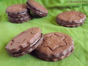 Kipróbált és bevált receptek ...: Kívül-belül csokis keksz