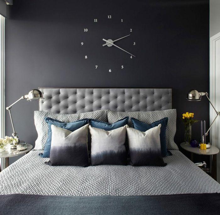 Moderne Wanduhren Für Das Schlafzimmer Futuristisch Und Ausgefallen |  Einrichtungsideen | Pinterest Pictures