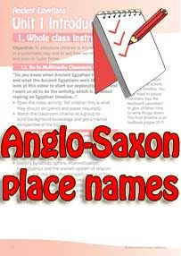 Anglo saxon facts primary homework help