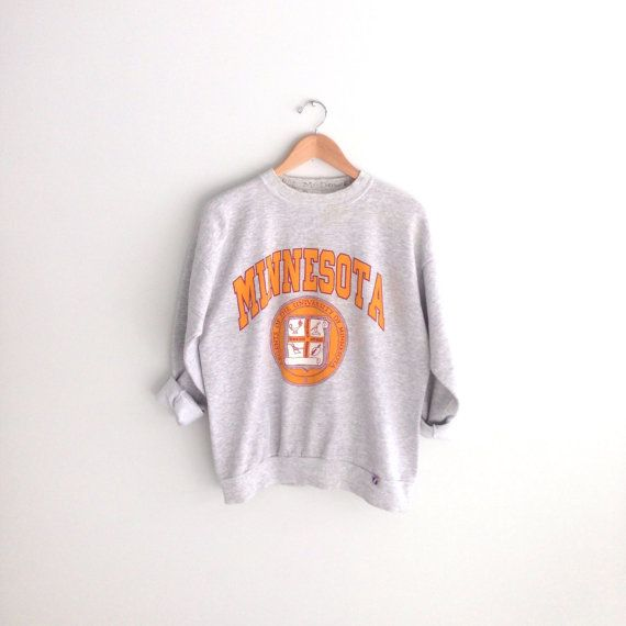 80s vintage UMN University of Minnesota Sweatshirt by louiseandco, $35.00