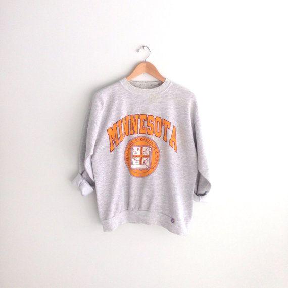 80s vintage UMN University of Minnesota Sweatshirt by louiseandco, $35.00