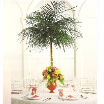 Palm centerpieces