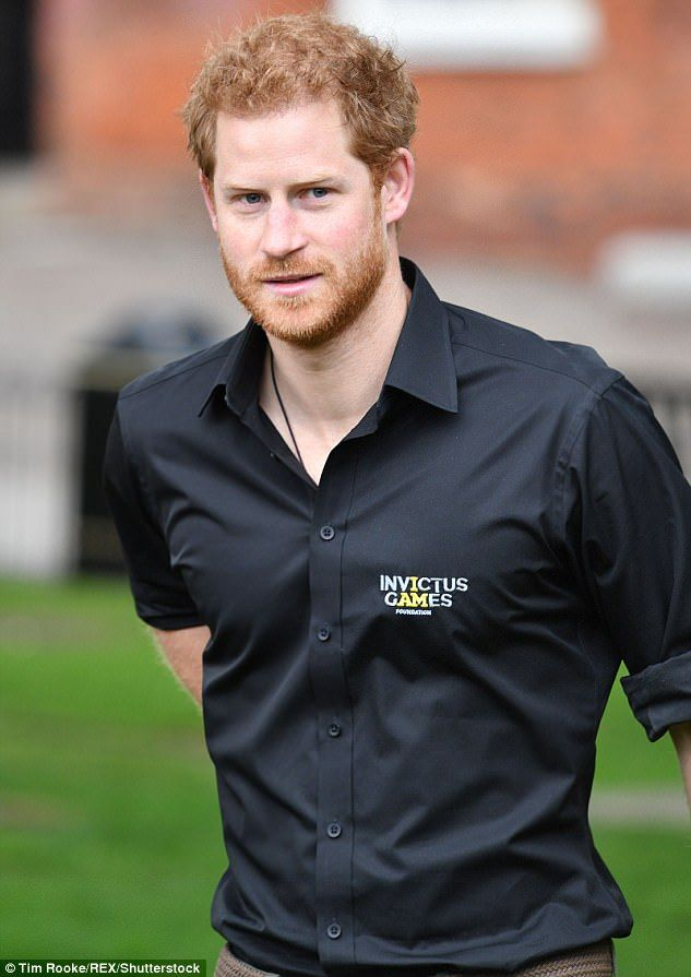 Passion: Prince Harry, pictured today, has been the driving force behind the Invictus Game...