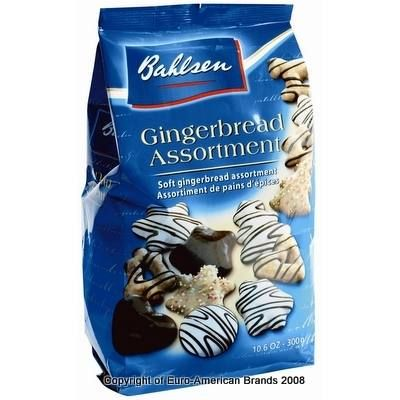 Bahlsen gingerbread (Lebkuchen) - unfortunately only available around the holidays.