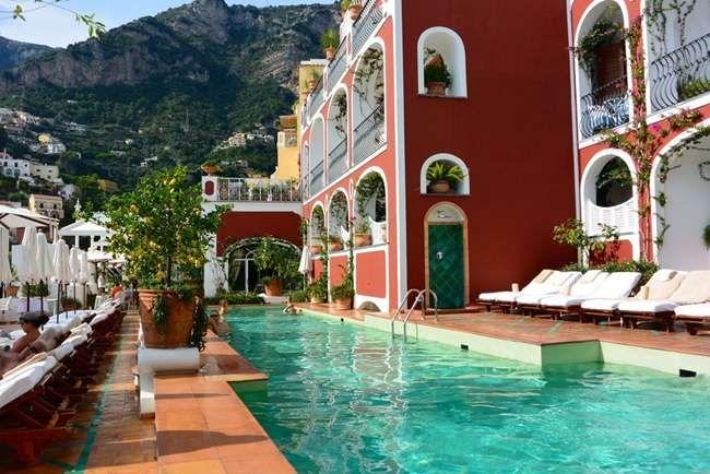 Отель Sirenuse В Позитано Отель Италия 3