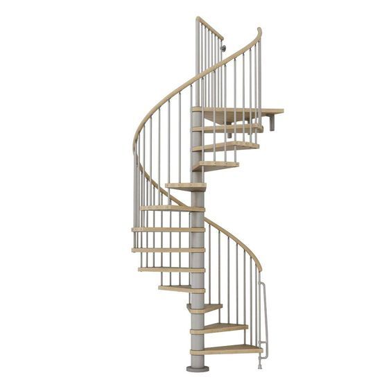 17 best ideas about spiral staircase kits on pinterest for Pre made spiral staircase