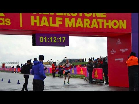 David Hudson Interview - Silverstone Half Marathon Winner 2017 - YouTube