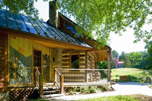 11 best images about upcoming log house remodel on for Log cabin additions ideas