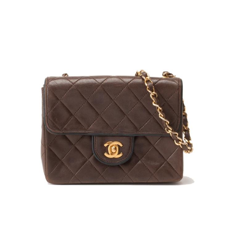 #Chanel brown #lambskin #MiniFlap  $1499