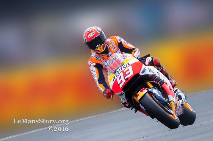 View HD wallpapers Marc MARQUEZ Repsol Honda Team moto gp qualifying