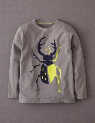 I've spotted this @BodenClothing Big Bug T-shirt Slate/Beetle