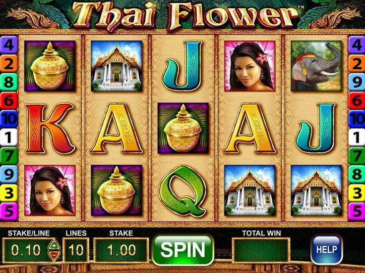 Drehe jetzt online kostenlos Spielautomaten Spiel Thai Flower - http://spielautomaten7.com/thai-flower/