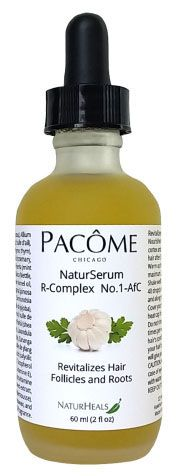 This serum's combinations and adjustments of ingredients have made it possible to understand their cumulative action on the growth power of this oily serum. Thanks to certain triglycerides this serum goes through the cell membrane of the hair and allows their nutrition in depth.  NaturSerum R-Complex contains important antioxidants that help block the action of dihydrotestosterone (DHT), the key hormone involved in reducing the size of the hair follicle and baldness. In addition these…