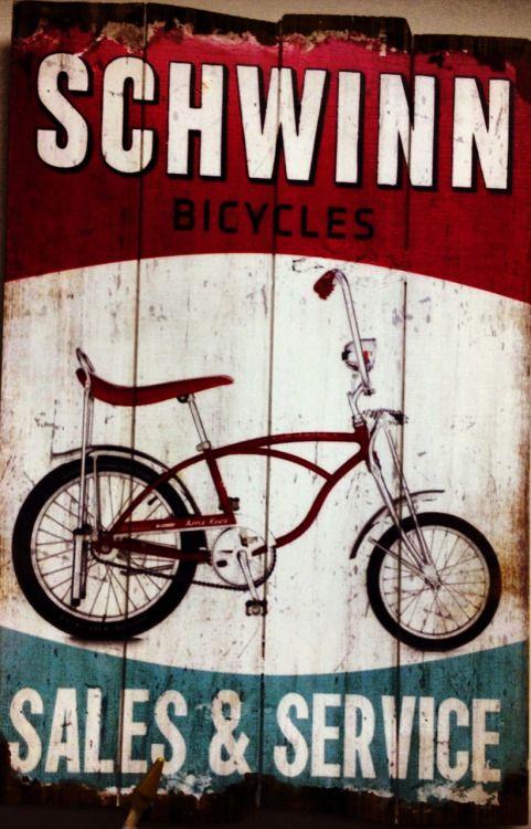 planetbmx:  Schwinn bicycles Sales & Service!