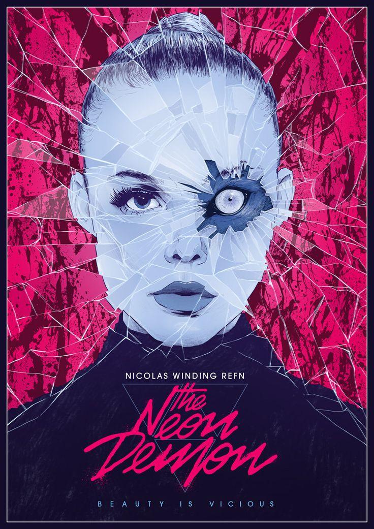 The Neon Demon 2016 800x1132 Imgur Mejores Carteles De Peliculas Peliculas De Terror Horror Movie Posters